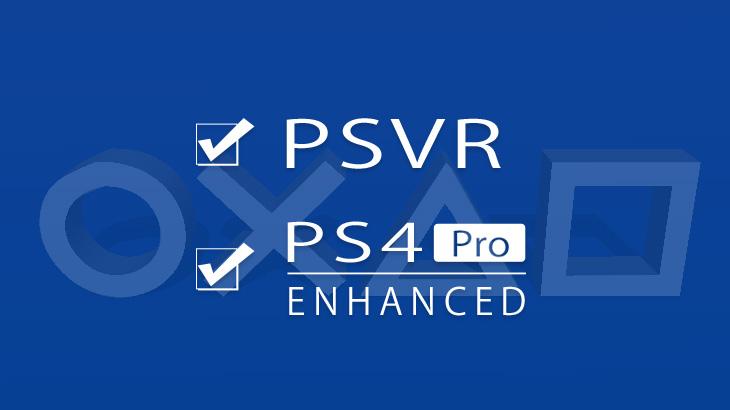 PSVR&PS4 Pro対応
